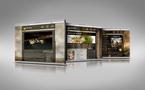 Crown Hotel Site Design